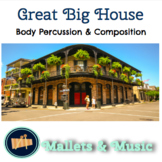 Great Big House in New Orleans: A song for body percussion and composing