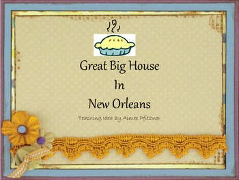 Great Big House in New Orleans PDF with teaching idea for Thanksgiving