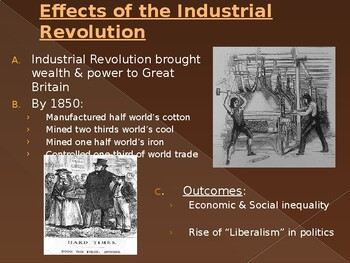 Great Britain and France in the 1800's PowerPoint