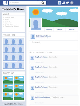 Great Canadian Leaders - Facebook Profile Assignment - 1980s to 2015