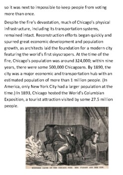 Great Chicago Fire Handout