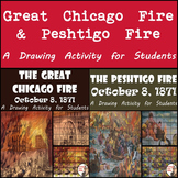 Great Chicago Fire & Peshtigo Fire - October 8, 1871 - Painting Recreations