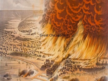 Great Chicago Fire - Power Point Information History Facts Pictures