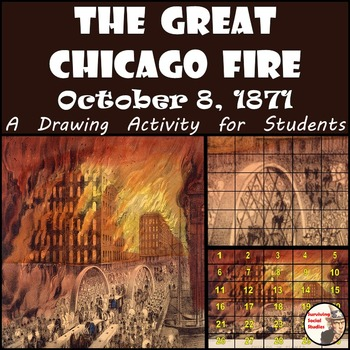 "Great Chicago Fire - Recreate the ""Chicago in Flames"" Lithograph"