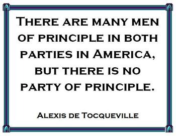 Great Civics and Government Quotations by Alexis de Tocqueville