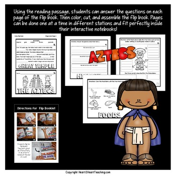The Aztec Mini-Unit | Aztec Flip Book |The Aztecs