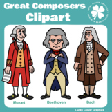 Great Composers Clipart
