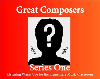 Great Composers Listening Warm Ups Series 1