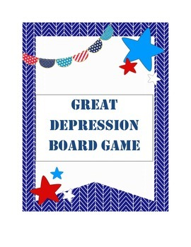 Great Depression Board Game