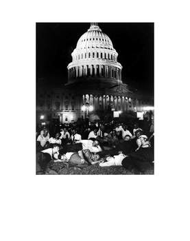 Great Depression: Bonus Army Activity