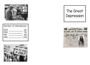 Great Depression Brochure