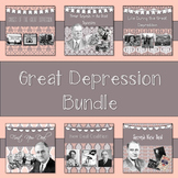 Great Depression PowerPoint Bundle