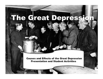 Great Depression Cause and Effect