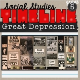 Great Depression Classroom Timeline SS5H3
