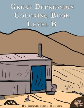 Great Depression Coloring Book—Level B