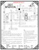 Great Depression Comprehension Crossword