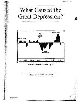 Great Depression: DBQ