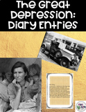Great Depression Diary Entry
