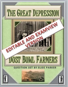 Great Depression: Dust Bowl Farmers Questions (Examview + Word)