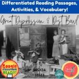 Great Depression & Dust Bowl-Granny K Project   DIGITAL & Print