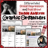 Great Depression, Dust Bowl and Migrant Workers Image Analysis Graphic Organizer
