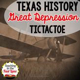 Great Depression Era TicTacToe Choice Board