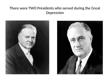 hoover and roosevelt great depression