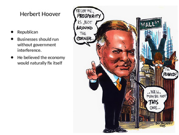 Great Depression Hoover and FDR PPT