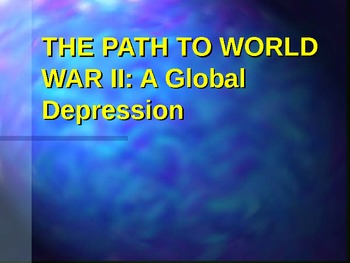 Great Depression: Impact on the United States and Globally