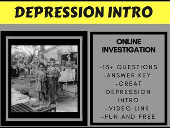 Great Depression Intro - FREE