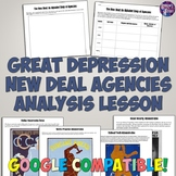 Great Depression New Deal Agencies Analysis