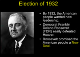 Great Depression & New Deal PowerPoint