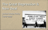Great Depression & New Deal PowerPoint - APUSH New Framework - Period 7