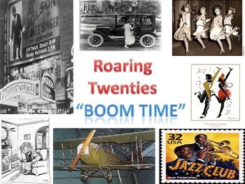 Great Depression, New Deal Programs and Roaring Twenties Power Point