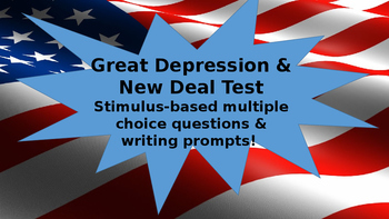 Great Depression & New Deal Unit Test