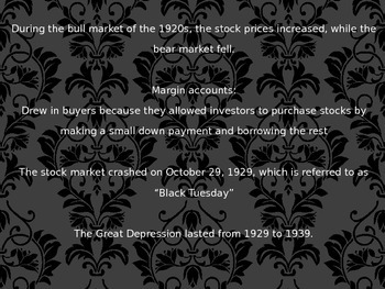 Great Depression PPT