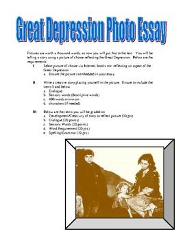 Great Depression Photo Essay