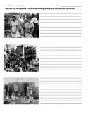 Great Depression Photo Essay Worksheet