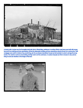 Great Depression: Photo Gallery Walk
