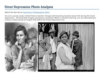 Great Depression Photo Historiography