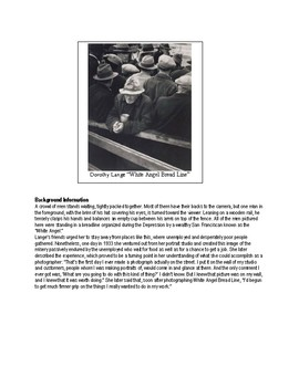 Great Depression Picture Analysis