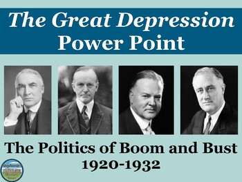 Great Depression Power Point: 1920-1932