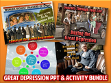 Great Depression PowerPoint & Activity Bundle