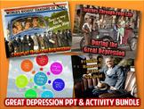 Great Depression PowerPoint & Activity Bundle