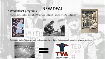 Great Depression PowerPoint and PowerPOint Questions