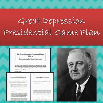 The Great Depression: Introductory Lesson!
