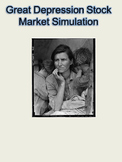 Great Depression Stock Market Simulation