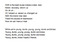 Great Depression Song Lyrics