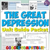 Great Depression Study Guide and Unit Packet