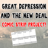 Great Depression & The New Deal Comic Strip Project